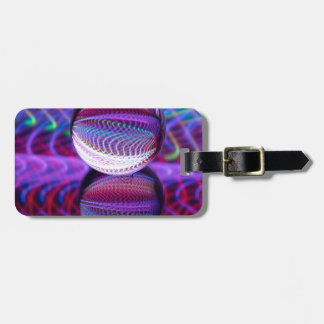 Lies in the crystal ball luggage tag