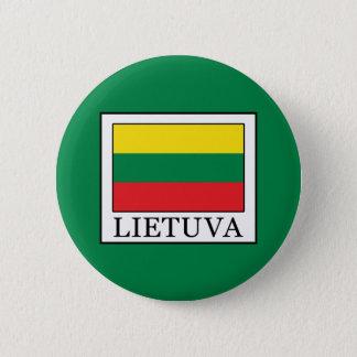 Lietuva 2 Inch Round Button
