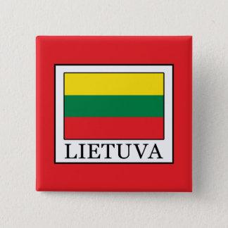 Lietuva 2 Inch Square Button
