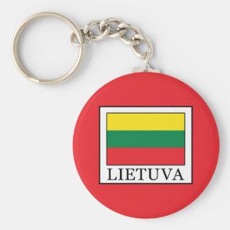 Lietuva Keychain