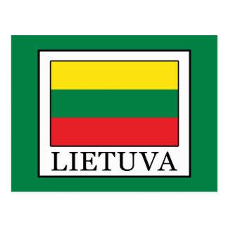 Lietuva Postcard