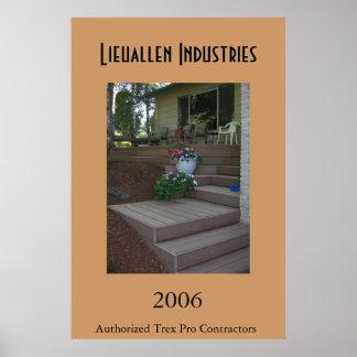 Lieuallen Industries Poster