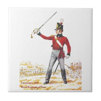 Lieutenant 1815, Royal Regiment of Foot Tile