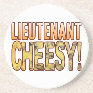Lieutenant Blue Cheesy Coaster
