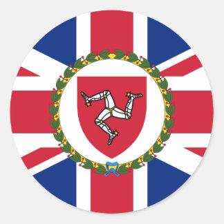 Lieutenant Governor Of The Isle Of Man, Ireland Classic Round Sticker