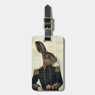 Lieutenant Hare 2 Bag Tag