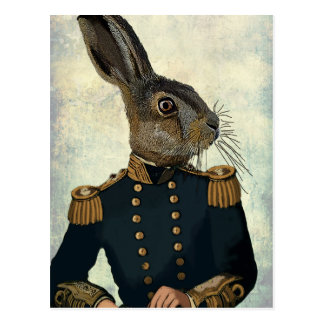 Lieutenant Hare 2 Postcard
