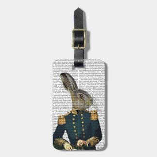Lieutenant Hare Luggage Tag