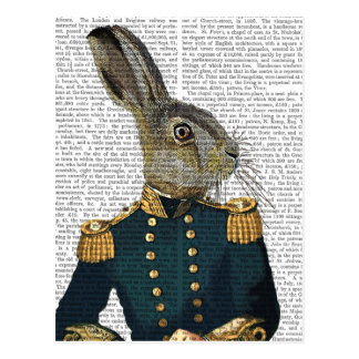 Lieutenant Hare Postcard