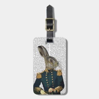 Lieutenant Hare Tag For Bags