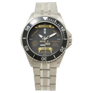 LIEUTENANT ( JUNIOR GRADE ) / Semper Fortis Wristwatches