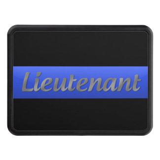 Lieutenant Rank - Thin Blue Line Hitch Cover