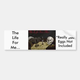 Life4MePirateBumperSticker Car Bumper Sticker