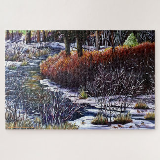 Life Along the Creek Jigsaw Puzzle