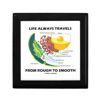 Life Always Travels From Rough To Smooth Jewelry Boxes