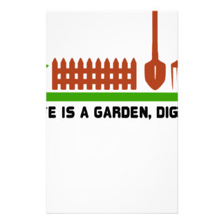 Life and Garden dig it Stationery
