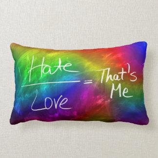 Life and Loves Equation Lumbar Pillow