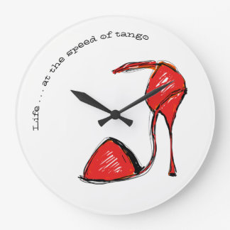 Life at the Speed of Tango Wall Clock