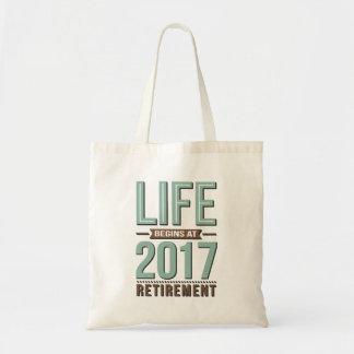 Life Begins At 2017 Tote Bag