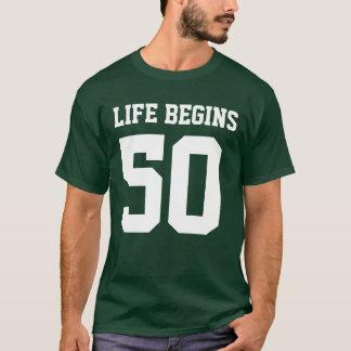 Life Begins at 50 T-Shirt
