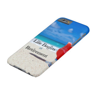 Life Begins at Retirement Barely There iPhone 6 Case