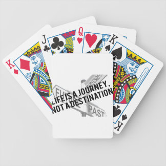 Life Bicycle Playing Cards