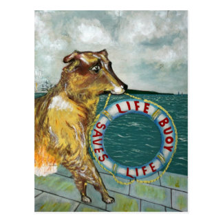 Life Buoy soap vintage advertising poster Postcard