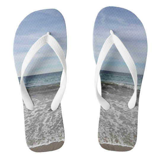 Life By the Sea Flip Flops