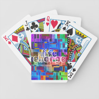 LIFE CHANGE BICYCLE PLAYING CARDS