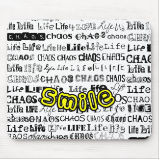 Life, Chaos - Smile! Mouse Pad