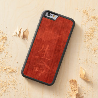 Life - Chinese Symbol Carved Cherry iPhone 6 Bumper Case