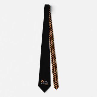 Life Church men's black tie