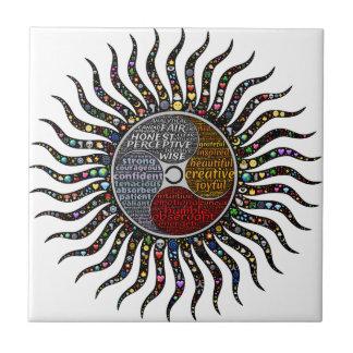 Life circle tile