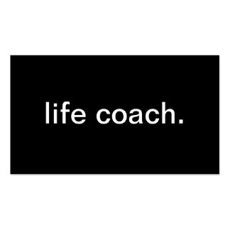 Life Coach Pack Of Standard Business Cards