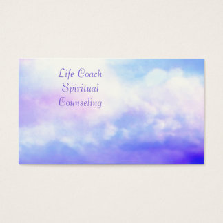 Life Coach Spiritual Counseling  Business Cards