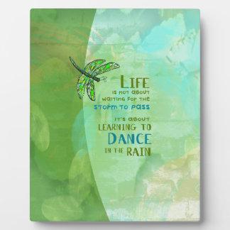 Life - Dance Plaque