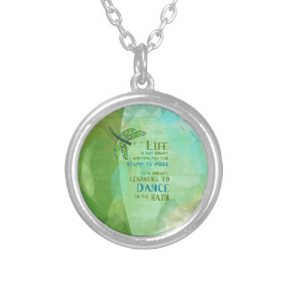 Life - Dance Silver Plated Necklace