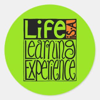Life Experience Sticker