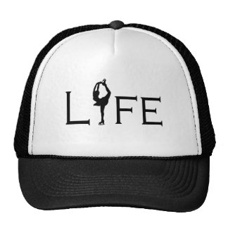 LIFE (Figure Skater) Mesh Hats