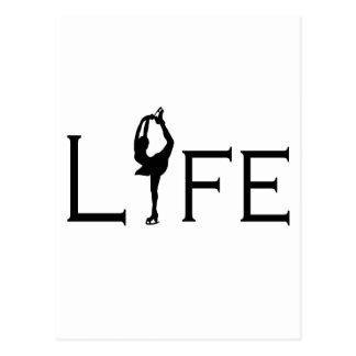LIFE (Figure Skater) Postcard