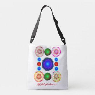 Life full of colors !!! crossbody bag