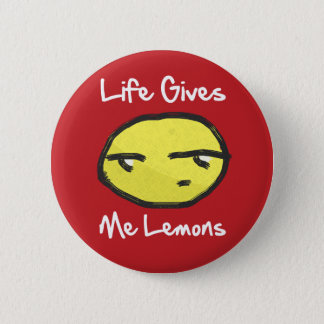 Life Gives Me Lemons Button