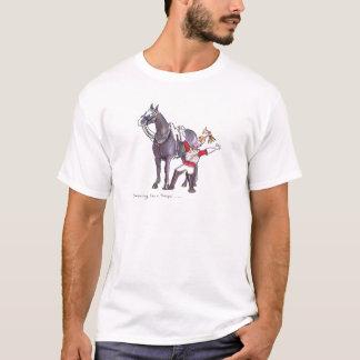 Life Guards funny horse cartoon T-Shirt