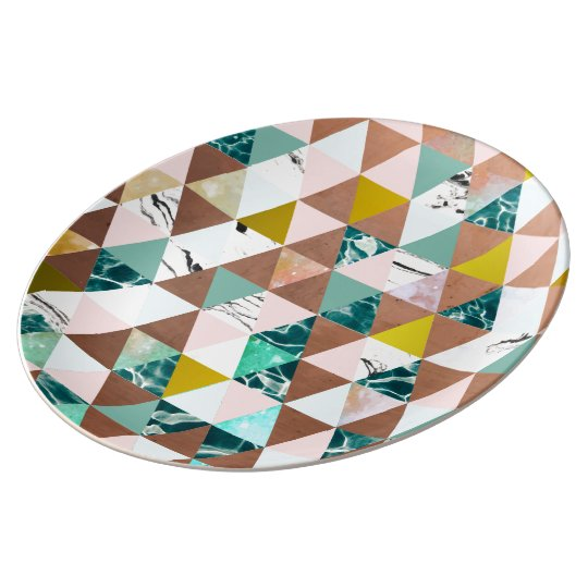 Life in a Pattern Porcelein  Plate Porcelain Plate