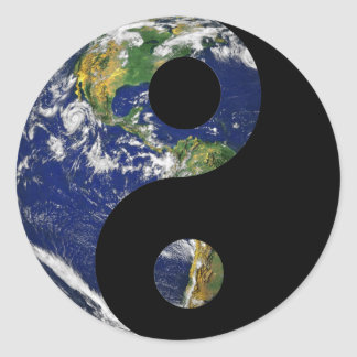 Life in Harmony Round Sticker