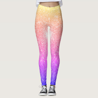 Life In Sparkling Colors Leggings