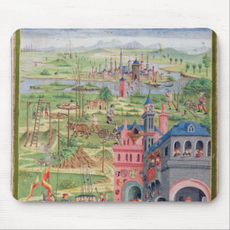 Life in the City and Life in the Country Mouse Pad