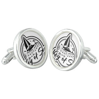 Life In The Key of Sea Cuff Links