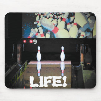 Life is a Bad Split Mouse Pad