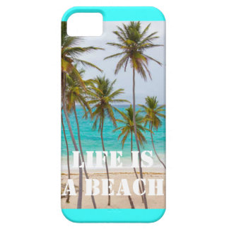 Life is a beach, iPhone 5 Case